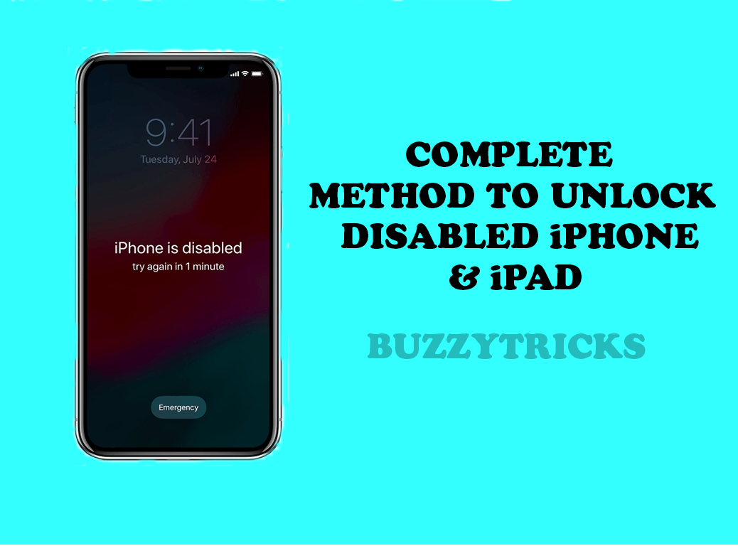 Unlock-Disabled-iPHONE