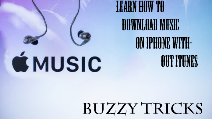 download music on iphone without itunes