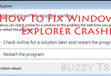 Windows explorer keeps crashing windows 10